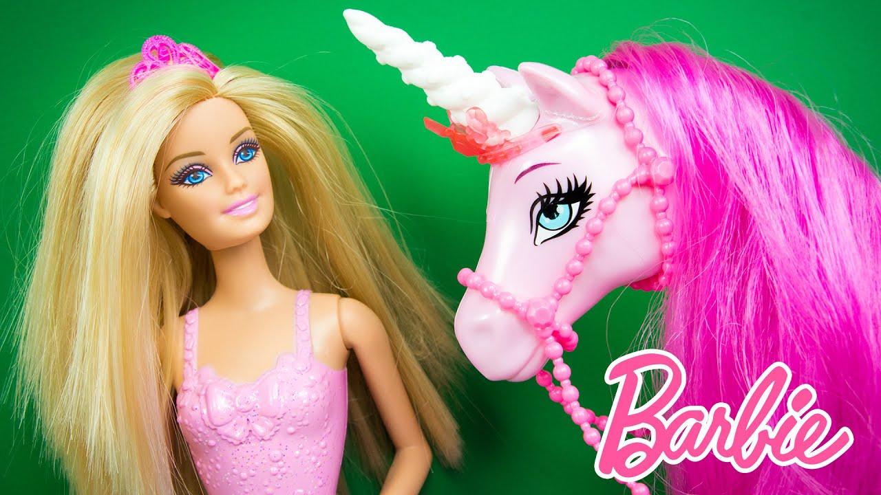 85 Princess Barbie And The Unicorn The Barbie And
