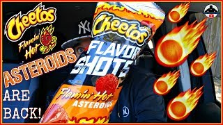 Cheetos® Flamin' Hot® Asteroids Review! | Flavor Shots! 🧀🔥☄️