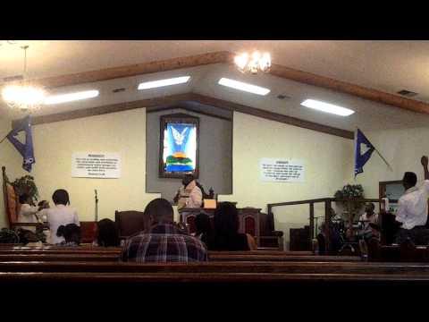 Elder: Cornelius Bennett Preaching