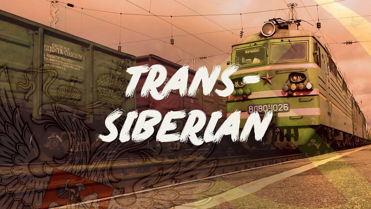 Trans-Siberian train trip - 10 000 kilometers from Moscow