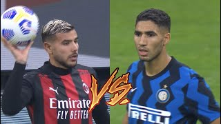 Theo Hernandez vs Achraf Hakimi | Milan Derby 🔥 | Who is the Best ?