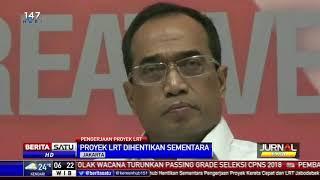 Proyek LRT di Bekasi Dihentikan Sementara