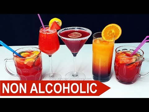 3 Non-Alcoholic Cocktails You Will Love (Mocktails) | Flo Chinyere