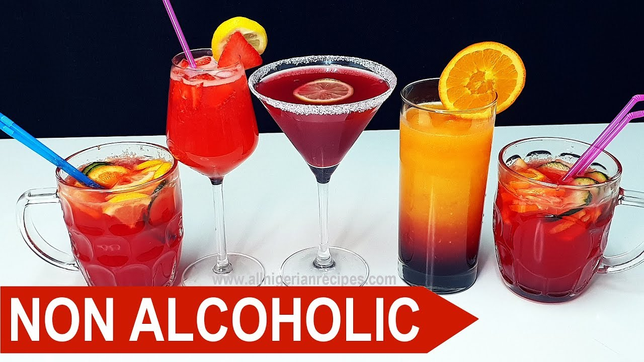 3 Non Alcoholic Cocktails You Will Love Mocktails Flo Chinyere Youtube