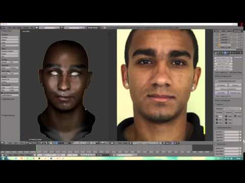 FIFA 14 - How to make faces in Blender