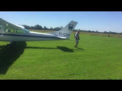 Flying a Cessna 182             in Ireland,                       Weston to Clonbullogue