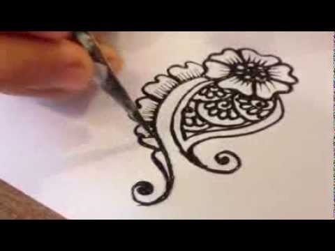Henna Tattoo Vietnam Hng Dn V Henna C Bn YouTube