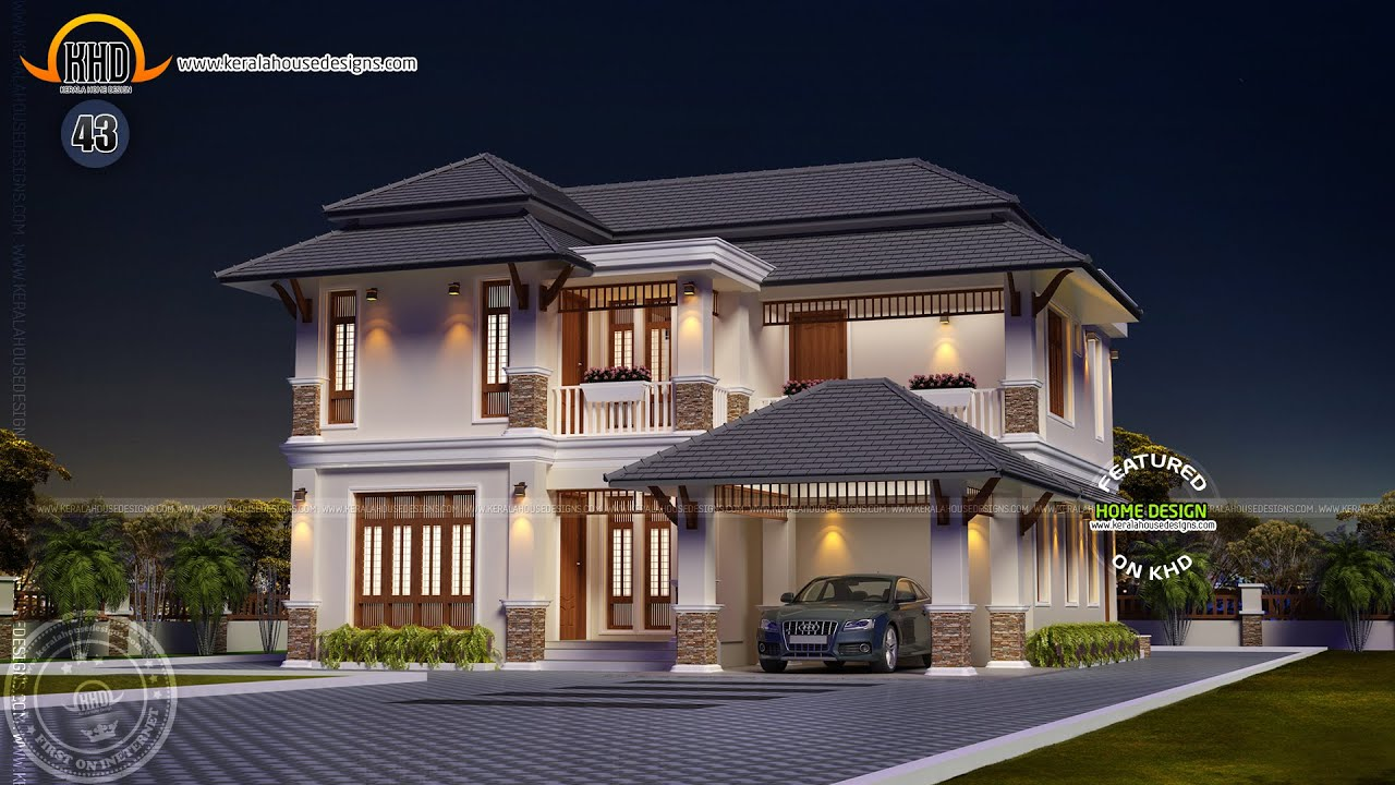 best residential house plans and designs.  House plans of January 2015 YouTube