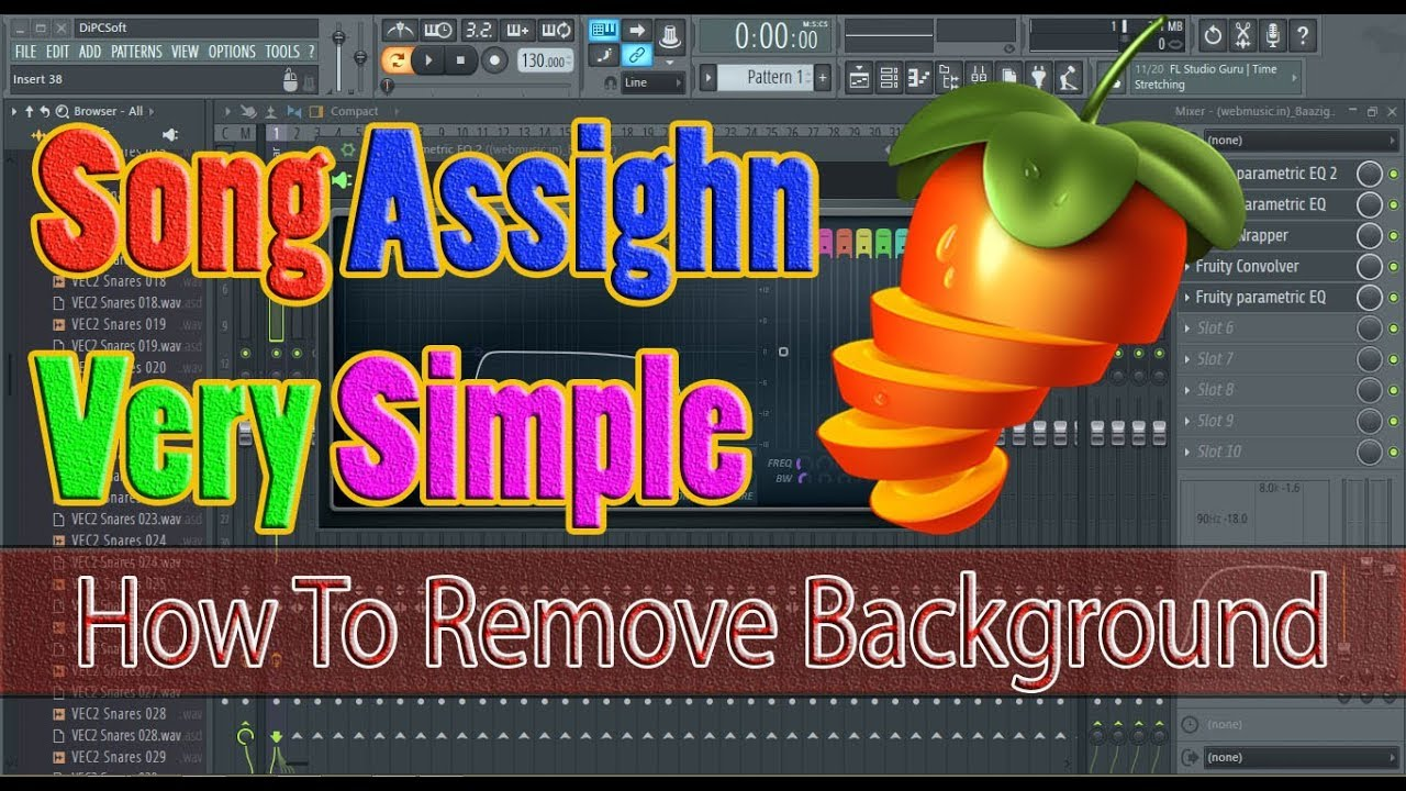 how to remove background music from a video clip