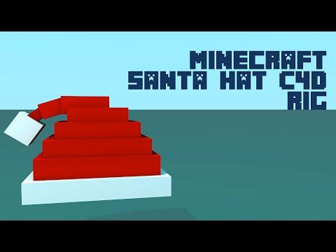 Minecraft Santa Hat C4D Rig - YouTube