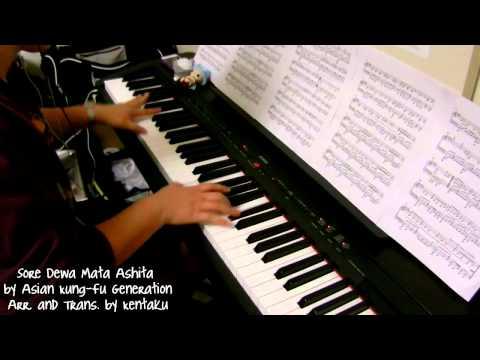 Naruto - Sore Dewa, Mata Ashita (piano)