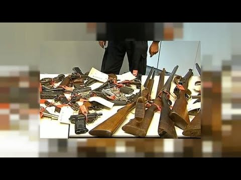 Australia recovers 50,000 illegal weapons in gun amnesty