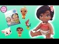 Vaiana Moana bebé + Cajitas Sorpresa de la película Disney Vaiana Moana