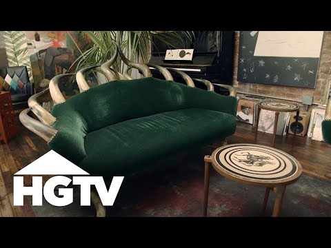 Secret NYC Artists' Club - HGTV