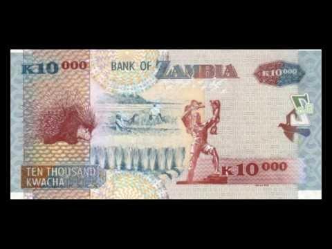 All Zambian Kwacha Banknotes - 2003 to 2012 in HD
