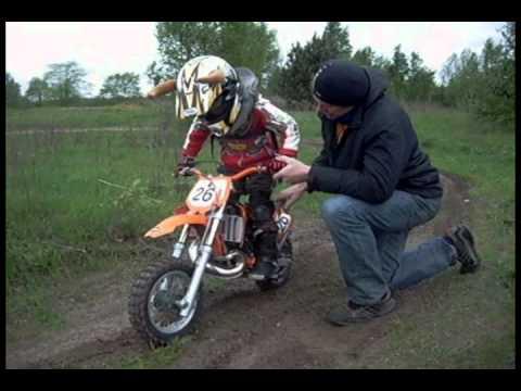 Poważne MX Kowalski trening dzieci Motocross - YouTube FA64