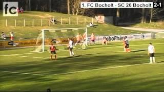 16. Spieltag: 1. FC Bocholt - SC 26 Bocholt 2:1 (2:0)