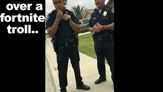I almost got arrested for trolling this kid on Fortnite..