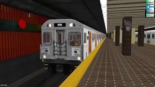 OpenBVE Toronto Line 2 Kennedy-Kipling H6 train *Arcade Mode*