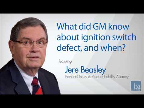 What did GM know about ignition switch defect, and when?