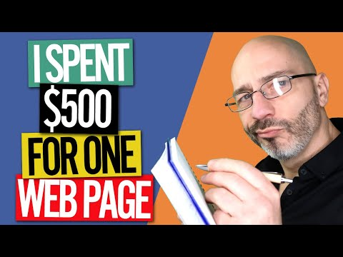 SEO COPYWRITING - I SPENT $500 On Fiverr For A Webpage - THIS IS WHAT I GOT …
