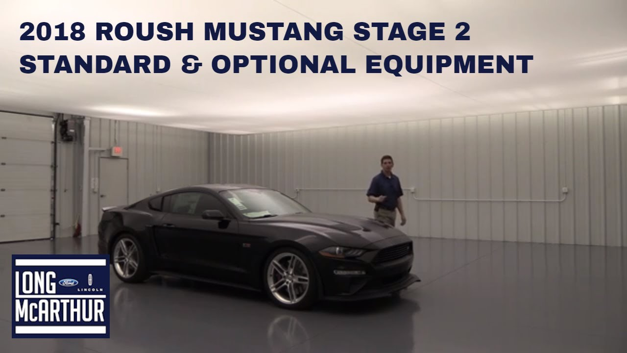 2018 Ford Mustang Roush Stage 2 Youtube