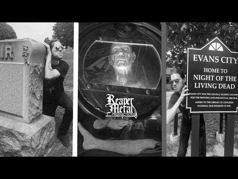 A trip to Evans City Cemetery - Night of the Living Dead locations