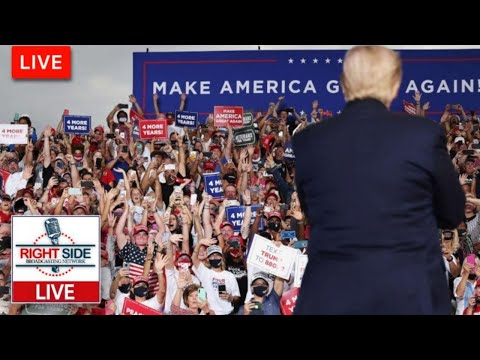 Watch LIVE: President Trump Holds Make America Great Again Rally in Manchester, NH 10-25-20