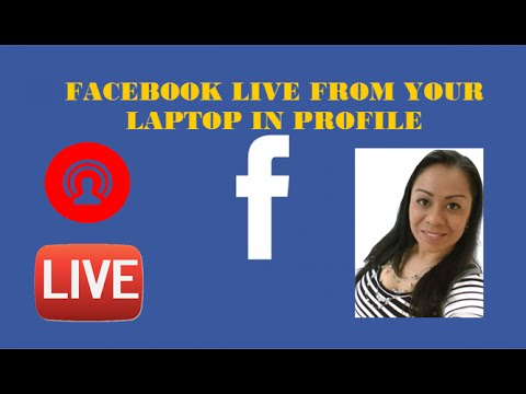 How to do Facebook Live from PC Laptop Streaming on Personal Profile