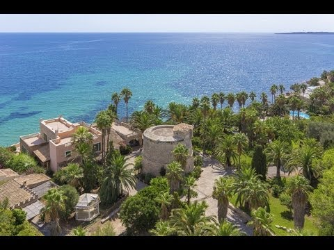 Seafront Villa With Direct Sea Access In Costa De Los Pinos, Mallorca - 6371