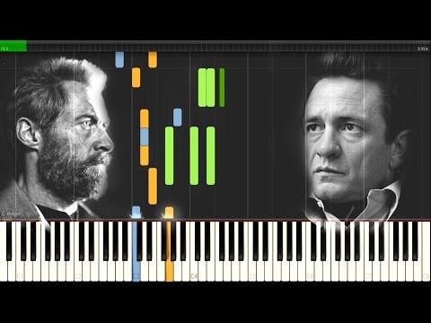 Johnny Cash - Hurt [Easy Synthesia Piano Tutorial]