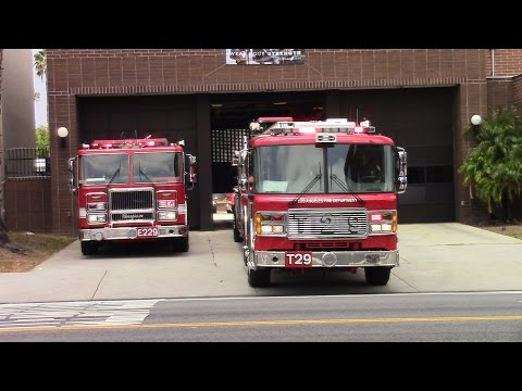 LAFD Lightforce 29 Responding/Cancelling