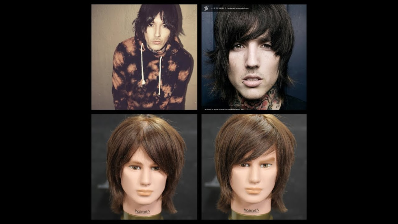 Oliver Sykes Haircut Tutorial Youtube