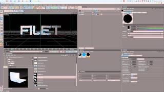 Cinema 4D R12 tutorial Tron (Русский видео урок)