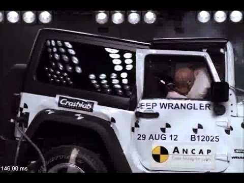 Jeep Wrangler (2012 On)   4 Star ANCAP Safety Rating