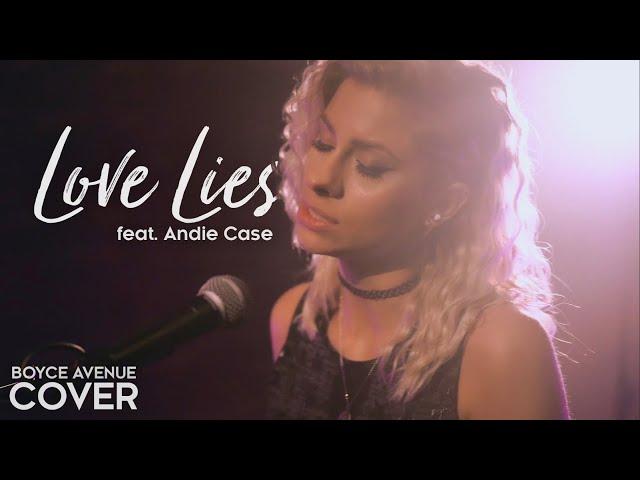 Love Lies - Khalid & Normani (Boyce Avenue ft Andie Case acoustic cover)