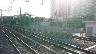 南海高野線 北野田駅 2200系(2202編成) 試運転 通過