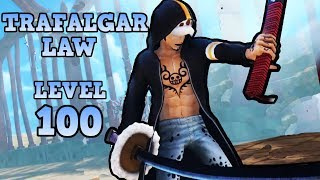 One Piece Pirate Warriors 3 Trafalgar Law Level 100 Gameplay Part 1