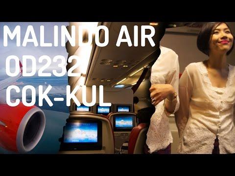 Malindo Air OD232 : Flying from Kochi to Kuala Lumpur