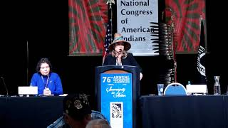 NCAI 2019 NATIONAL CONGRESS OF AMERICAN INDIANS  -Day 3  President Candidates Speak