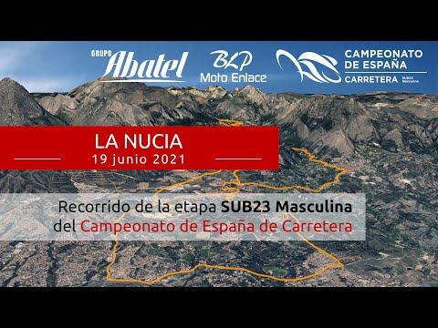 La Nucia. Campeonato de España Carretera 2021. Sub23 Masculina