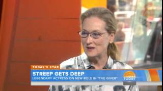 Meryl Streep on TODAY show, 11.08.2014