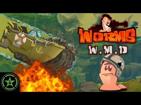 BIKINI BOTTOM TO URANUS - Worms W.M.D. | Let's Play