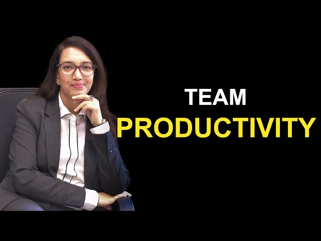 How to increase team productivity | Nupur Gupta