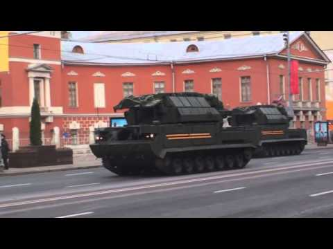 New Russian Weapons 2014   Tor M2U air defence missile system