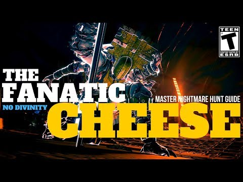 Master Nightmare Hunt CHEESE - The Fanatic (980 TIME TRIAL NO DIVINITY)