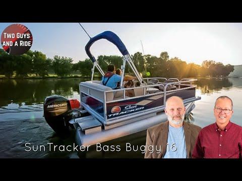 Sun Tracker Bass Buggy 16 XL Pontoon For 2020