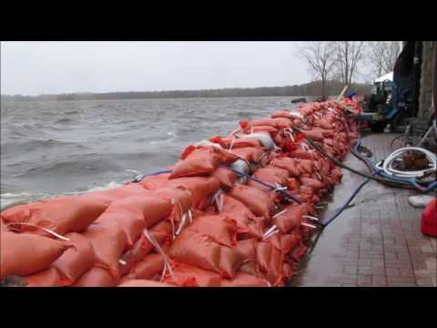 Climate Change: May 8th 2017 flooding at Britannia Park + Ottawa River