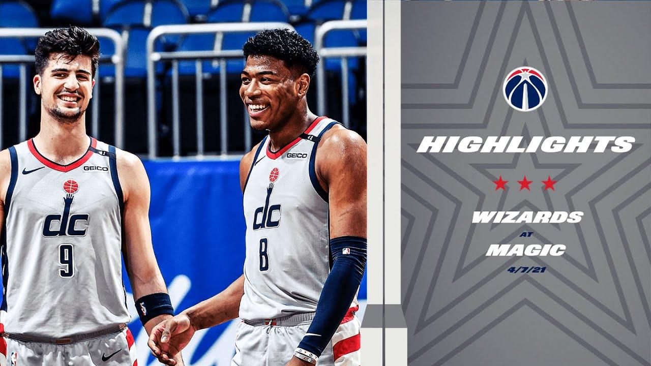 Highlights: Wizards at Magic - 4/7/21