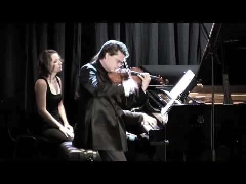 Julian Rachlin plays Lera Auerbach Sonata for Violin and Piano No. 3 - Part 4